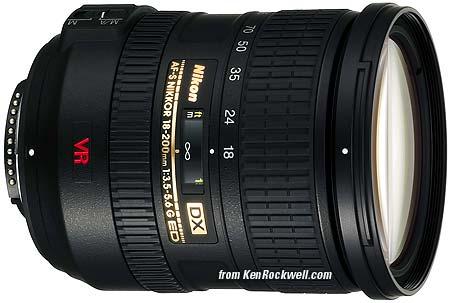 Nikon 18-200 mm VR II