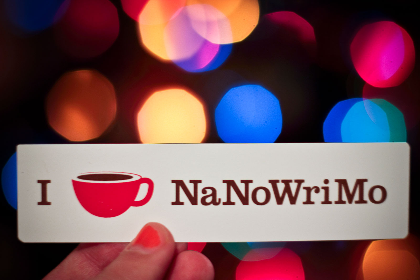 I coffee NaNoWriMo