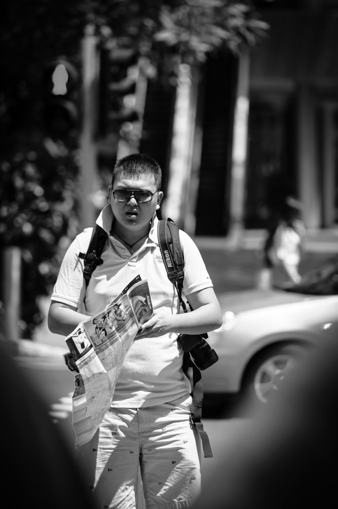 Street photography - Tourist in Orchard Singapore