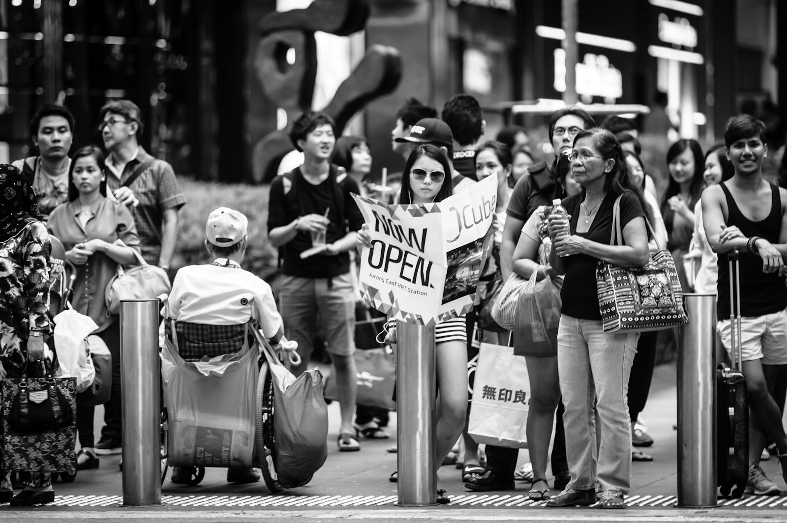 Street photography - Publicity stunt