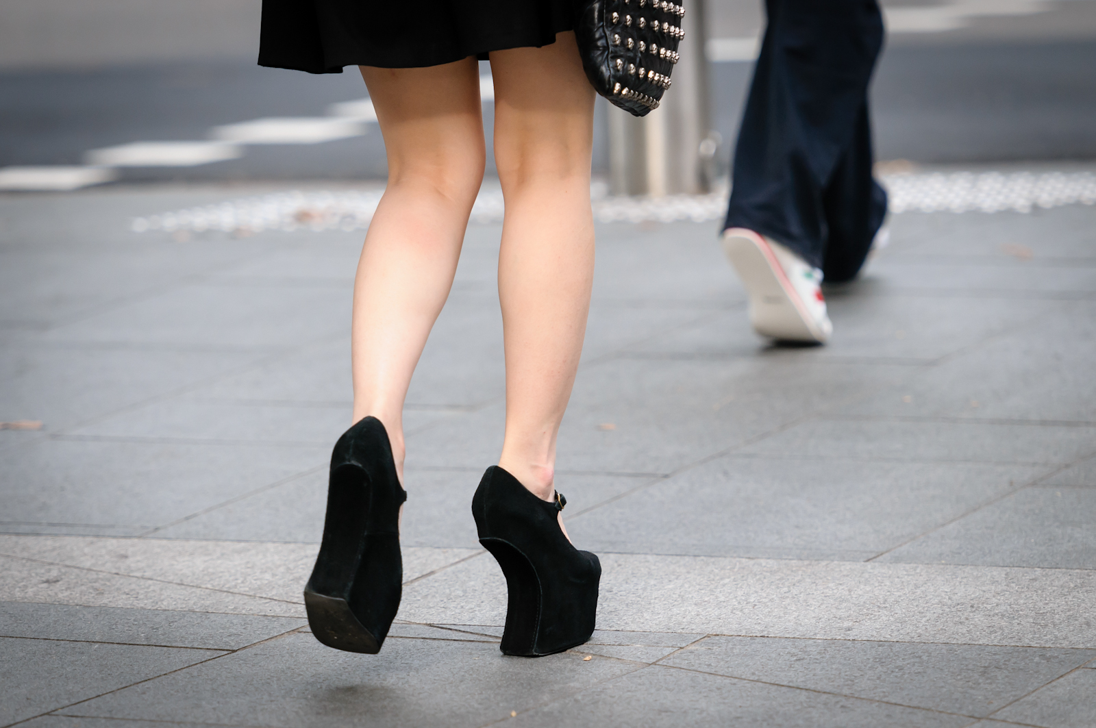 Street photography - Heels without heels