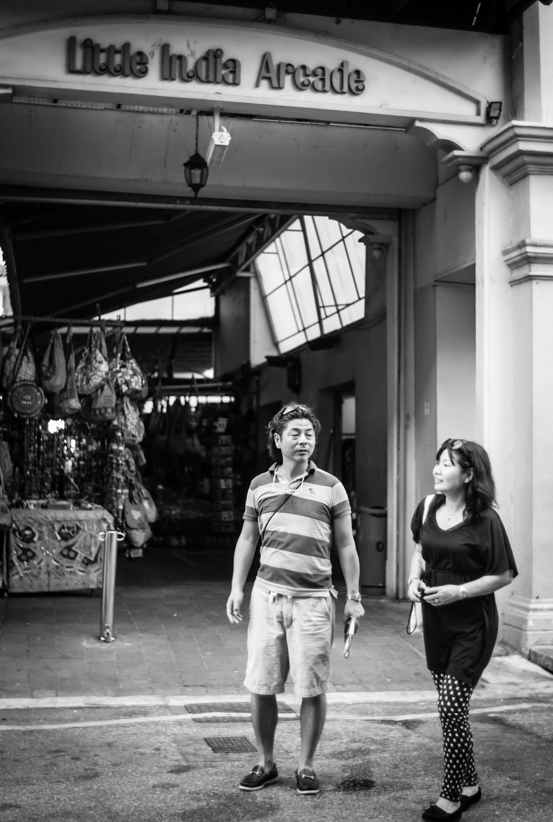 Street photography - Little India Arcade