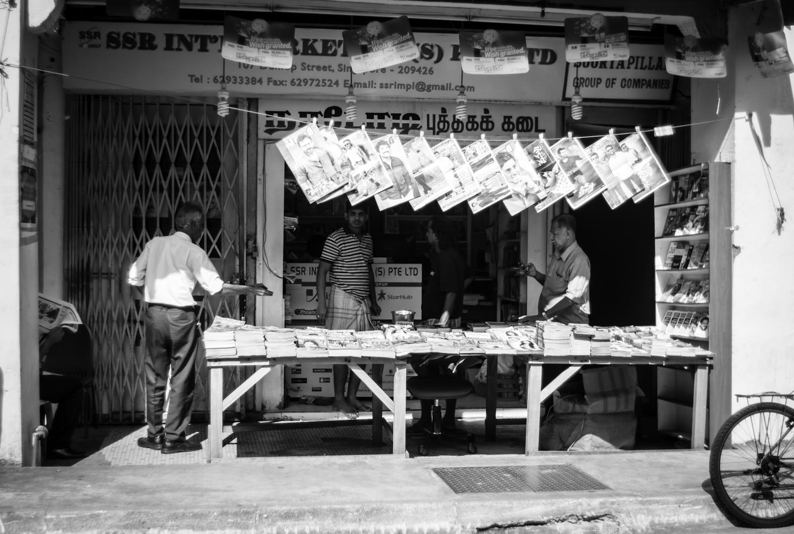 Street photography - Newsstand