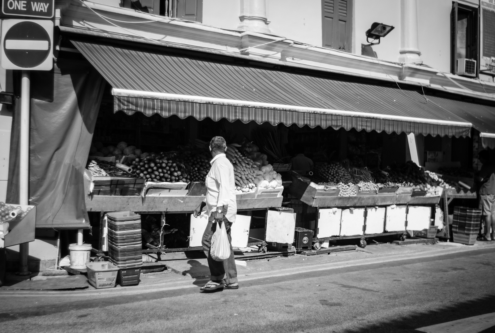 Street photography - Fruits stall