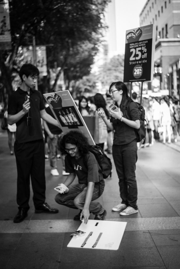 Street photography - Promotion