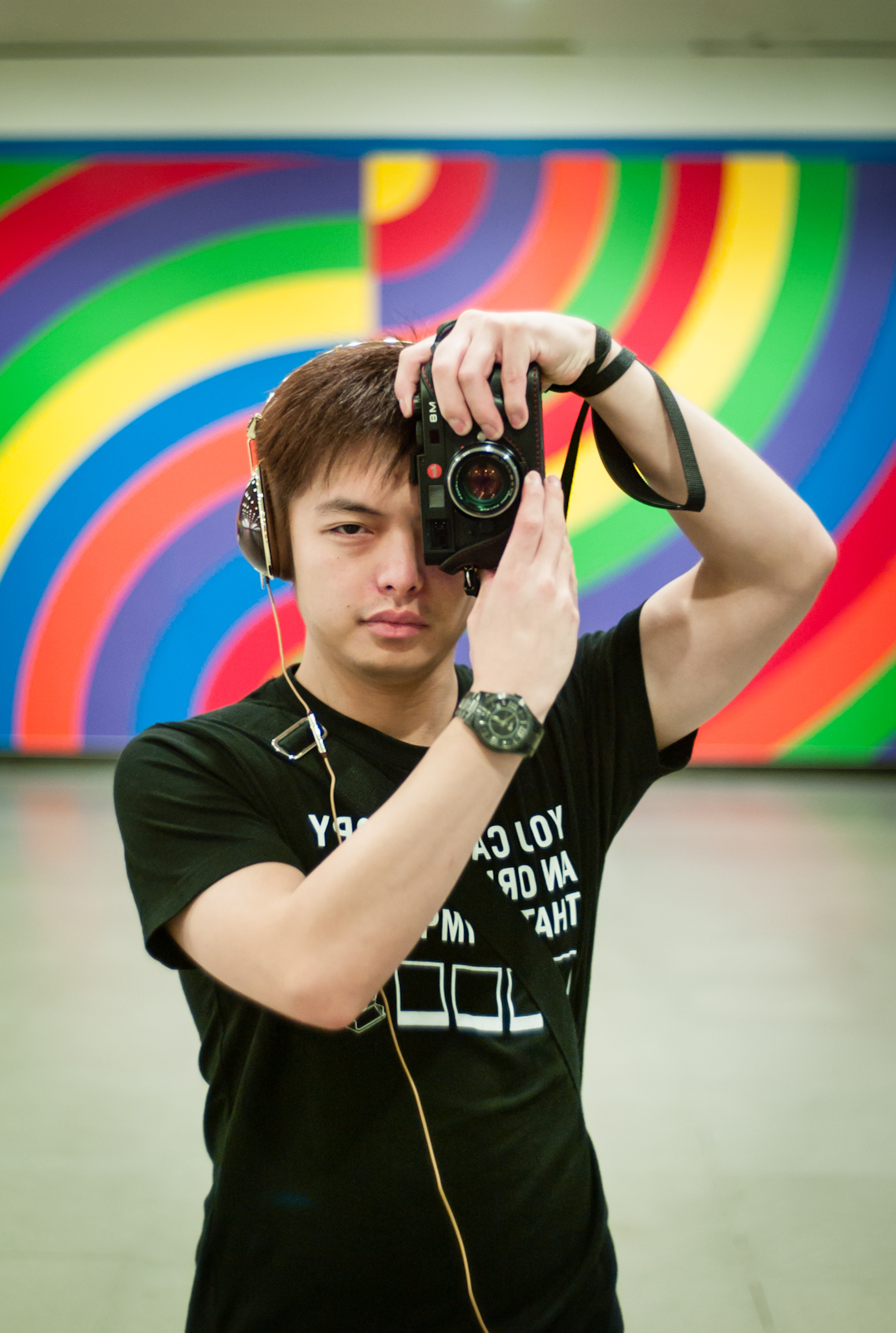 Self portrait of photographer Jen Xi