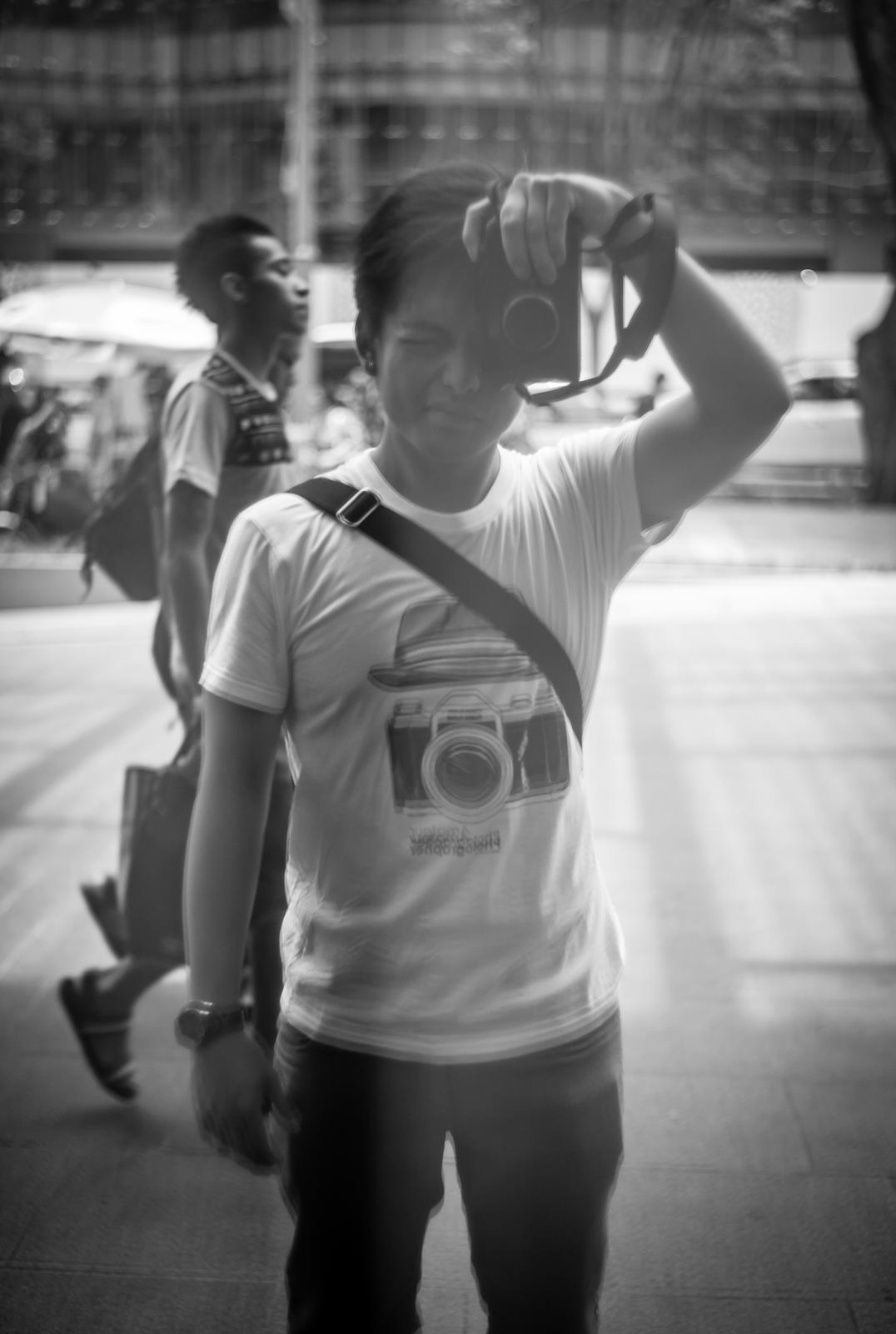Photographer's self-portrait