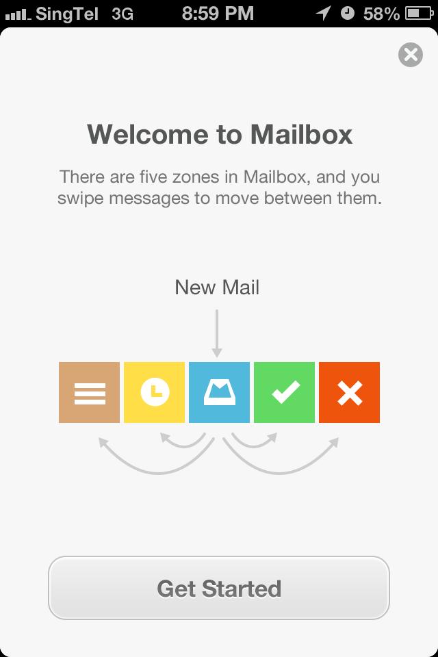 Mailbox workflow