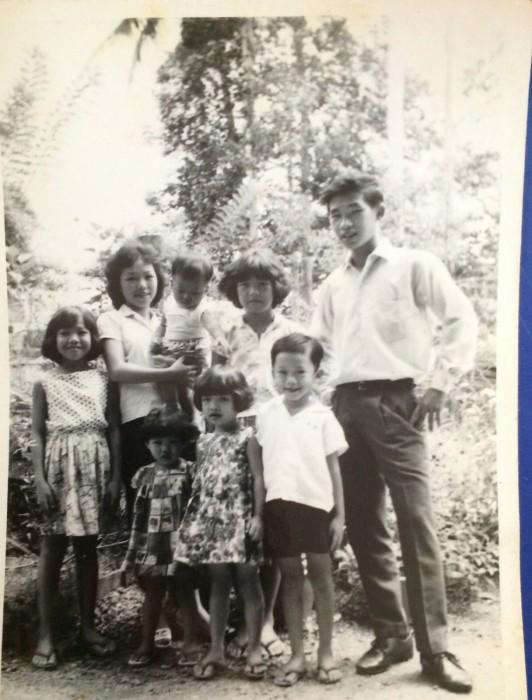 Family polaroid photo