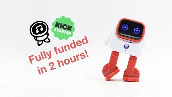 Dancebot funded